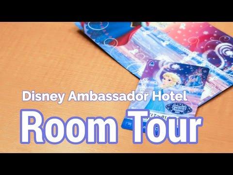 Disney Ambassador Hotel Room Tour at Tokyo Disneyland