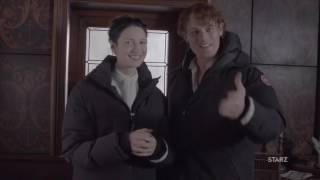 Caitriona Balfe & Sam Heughan Accept People's Choice Awards