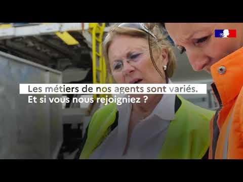 Video Métiers du Ministère de la Transition écologique
