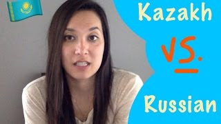 Kazakh VS.  Russian (10 Words in Each Language)