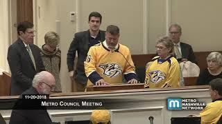 11/20/18 Council Meeting