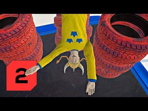 Stuntfest │2│ Švédka mezi pneumatikami