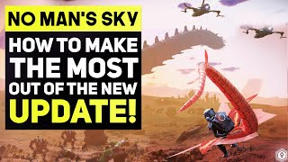 No Man's Sky PRISMS - How To Find The Best Exotic FLYING PETS & Secret Mechanic Hints Future UPDATE!
