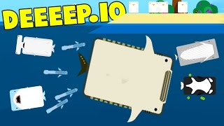 Deeeep.io - THE MOST OVER POWERED FISH! The Whale Shark! - New Animals! - Deeeep.io Gameplay