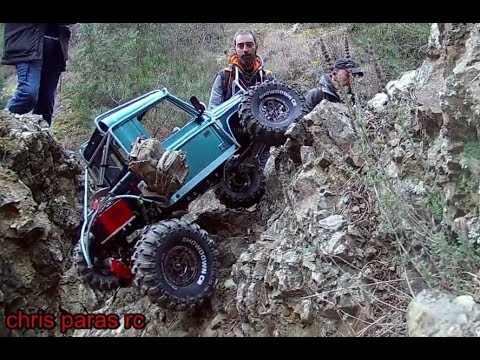 Amazing RC Scale Crawlers. D90 Truggy, Trx4, Axial Scx10ii, Scx10, Wraith, Natural Sound