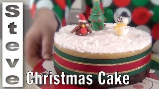 STEP BY STEP CHRISTMAS CAKE