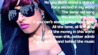 Stand Behind the Music - Anjulie ( Lyrics )