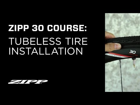 Zipp 30 Course Wheel Tubeless Tire Installation
