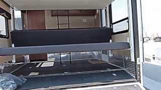"""""""FULL WALK AROUND"""" 2013 Dutchmen RV Razorback 2950 Toy Hauler """"FIRST LOOK"""""""