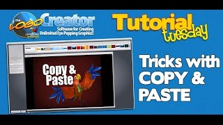 Copy and Paste Tricks using The Logo Creator