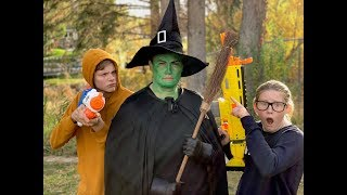 Nerf vs The Wicked Witch