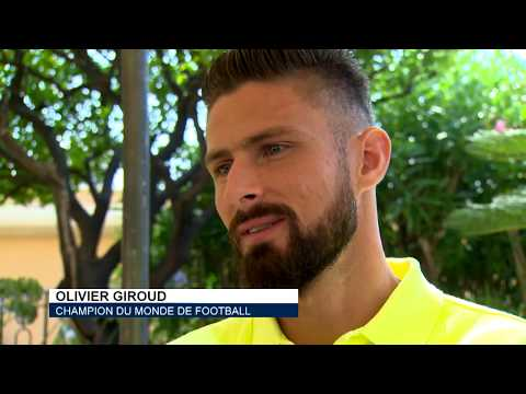 Sport: interview with Olivier Giroud