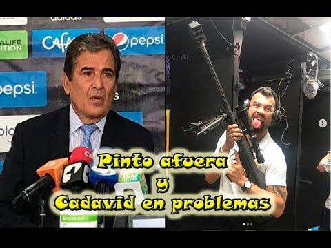 Andres Cadavid en PROBLEMAS y Pinto RENUNCIA a Millonarios.