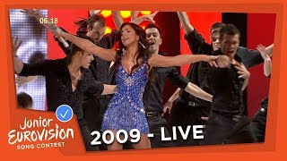 Ani Lorak - I'm Alive & Shady Lady - Interval Act - 2009 Junior Eurovision Song Contest