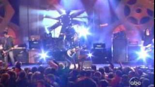 The Distillers - Drain The Blood (Live On Jimmy Kimmel) HQ
