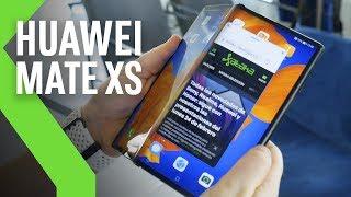 Huawei Mate Xs PRIMERAS IMPRESIONES: PLEGABLE con nueva BISAGRA, materiales nuevos, diseño conocido