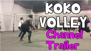 How To Play Volleyball for Beginners! ⎮KoKo Volley Highlight