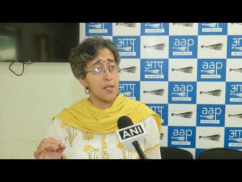 AAP Senior Leader Atishi Marlena Briefs Media on Officers Rejecting Orders by Delhi Govt