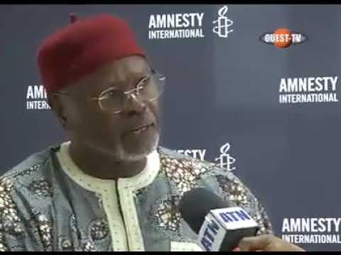 Directeur AMNESTY INTERNATIONAL pour l'Afrique de l'Ouest condamne les violences