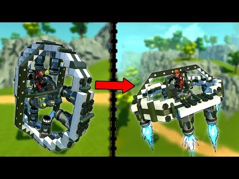 Transformers That Will Make You Laugh OR Say Wow... - Scrap Mechanic Workshop Hunters
