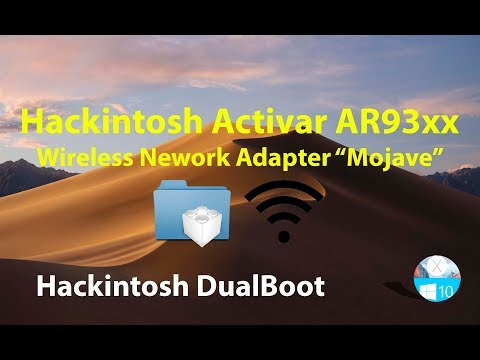 Hackintosh  Activar Atheros 9380 Wireless Netword Adapter