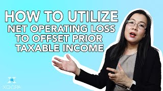 How to Utilize Net Operating Loss to Offset Prior Taxable Income