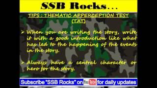 Thematic Apperception Test (TAT)  Practice 1 : YOGA #ssbrocks