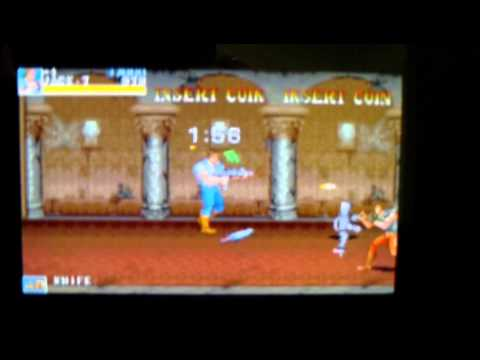 3DS Mame 2003 Cia running Simpsons and Battletoads