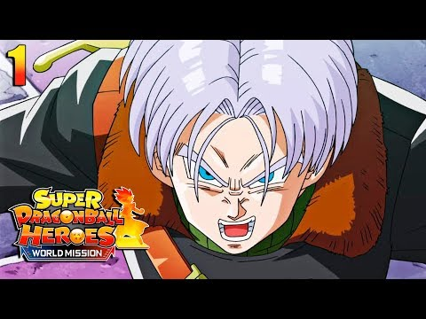 Gameplay de Super Dragon Ball Heroes World Mission
