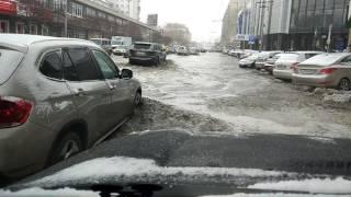Зимний потоп Екатеринбург
