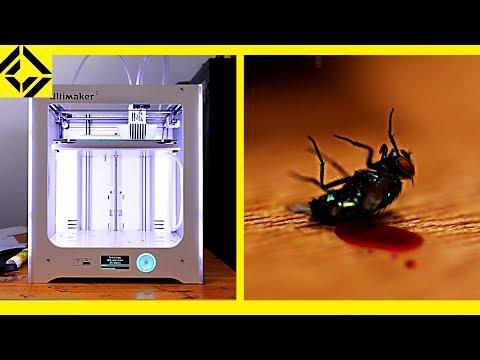 3D Printer Makes Fly Murder Machine