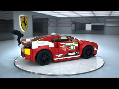 LEGO® Speed Champions 458 Италия GT2 75908
