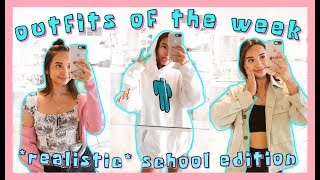 What I Wear To School Fall Edition 🎃🌟 Realistic School Outfits Of The Week (outfit Inspo)