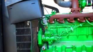 Good Low Hour John Deere 6068 Generator Set