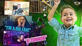 CONNOR MEETS DR LUPO AND JORDAN FISHER! (Fortnite: Battle Royale)