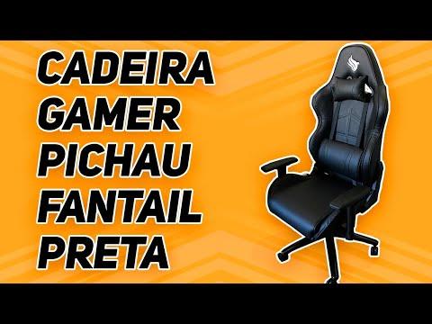 CADEIRA GAMER PICHAU FANTAIL PRETA | MINHA NOVA CADEIRA GAMER |