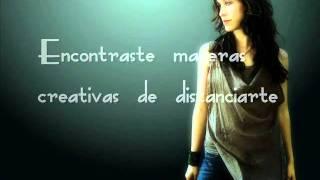 Surrendering Alanis Morrisette subtitulada al español