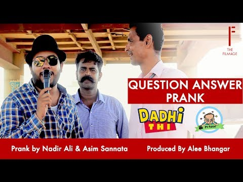 Question Answer Prank