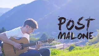 Post Malone - Otherside - Fingerstyle Guitar Cover