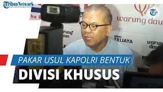 Pakar Usul Kapolri Bentuk Divisi Khusus Anti Korupsi Untuk 57 Pegawai KPK Yang Dipecat