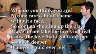 Maroon 5 - Miss You Love You  Lyrics