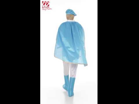 Adliger Blauer Prinz Kostüm