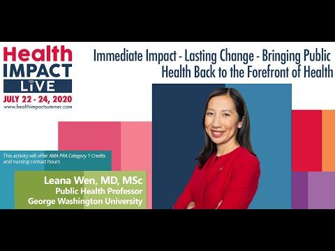 Sample video for Leana Wen, MD