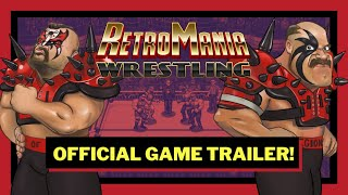 RetroMania Wrestling - Trailer