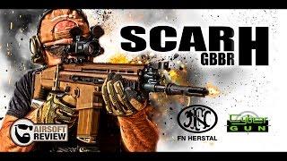 SCAR H GBBR / FN HERSTAL / CYBERGUN # AIRSOFT REVIEW