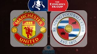 Manchester United vs Reading Vlog FA Cup 16/17