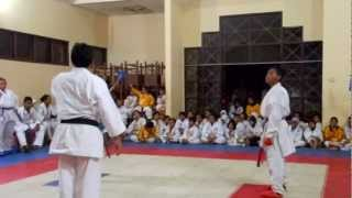 preview picture of video 'KEJURCAB AMURA 2013 di MAN 2 [Martapura] karateka Erwin'
