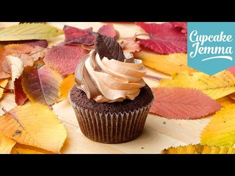 Chocolate Orange Autumn Cupcakes | Cupcake Jemma