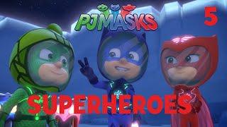 c397ca9578 Superheroes on the Moon! Shorts Compilation Part 1   PJ Masks   Disney  Junior Video :