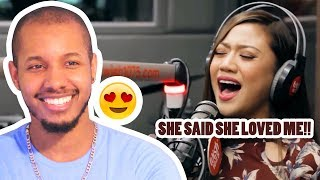"""MORISSETTE PERFORMS """"YOU AND I"""" LIVE ON WISH 107.5 BUS REACTION"""